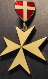 Nákrční insignie Maltézského řádu - SMOM