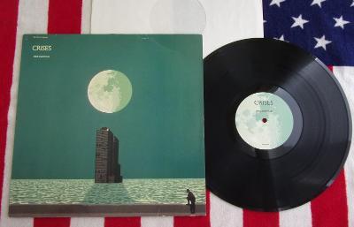 ⭐️ LP: MIKE OLDFIELD - CRISES, deska jako MINT! 1vyd West Germany 1983