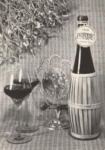 Vánoce a nový rok - Přípitek Primáš(retro)