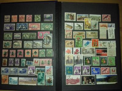 Sbírka známky Britské kolonie 1055 kusů včetně alb