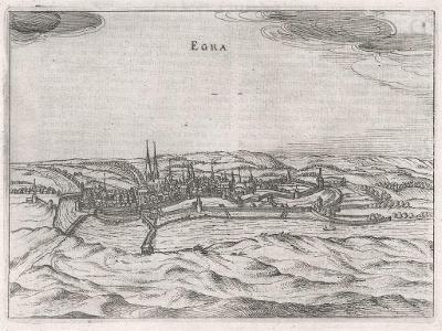 Cheb, Bertius, Mědiryt , 1616