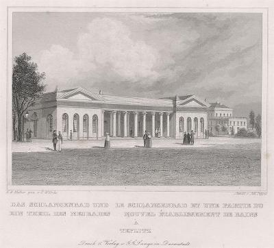 Teplice Hadí pramen, Schimmer, oceloryt, 1843