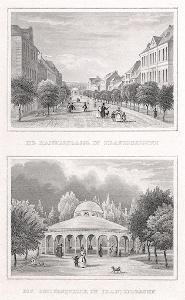 Františkovy láz. Luisin, Lange, oceloryt, 1842