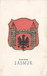 Zásmuky, chromolitografie, 1880
