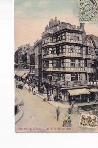 Anglie-Bristol-Old Dutch House-roh Wine Str.-oživená -MF