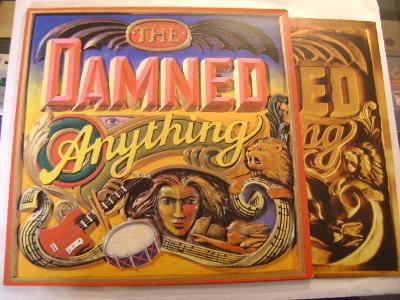 DAMMNED - ANYTHING - MCA UK´86 - LP/VG++