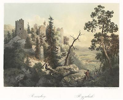 Rýzmburg-Osek, Haun, kolor. litografie, 1860