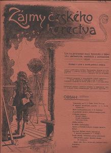 Zájmy českého herctva, ročník I./1904, číslo 5.