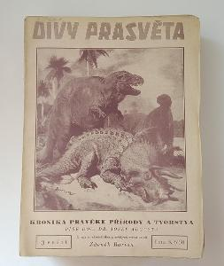 J.Augusta DIVY PRASVĚTA - KRONIKA PRAVĚKÉ PŘÍR. A TVORSTVA Il. Burian