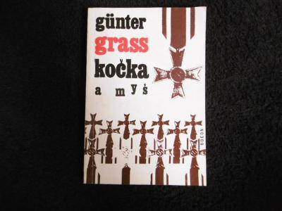 GÜNTER GRASS KOČKA A MYŠ (1968) podpis G.Grass
