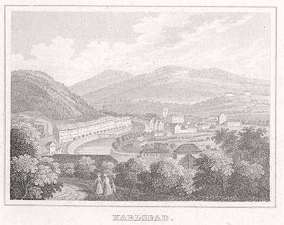 Karlovy Vary, Kleine Universum, oceloryt, (1840)