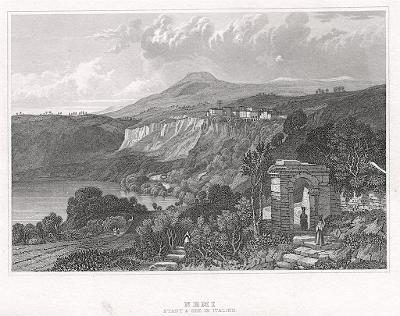 Nemi, Meyer, oceloryt, 1850