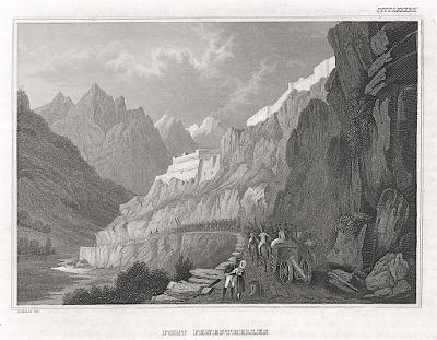 Fenestrelle, Meyer, oceloryt, 1850