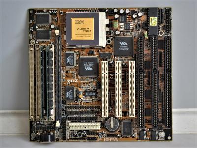 základní deska s procesorem IBM 686 - 233 MHz (58)