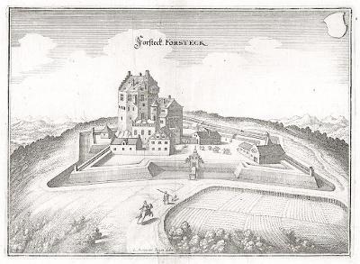 Forsteck, Merian,  mědiryt,  1642