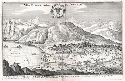 Altdorf, Merian,  mědiryt,  1642