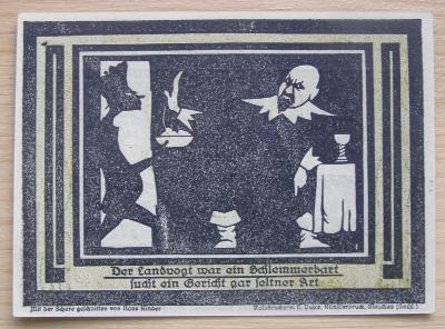 Bankovka Německo - Auerbach; 50 pfennig; 1921; stav viz fota