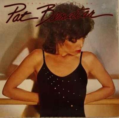 LP Pat Benatar - Crimes Of Passion, 1980 EX