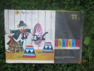 Staré časopisy, Ohníček, Mladý svět, 2 brožurky, konvolut.