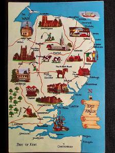 Velká Británie, East Anglia