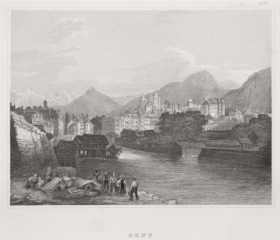Genf, Meyer, oceloryt, 1850