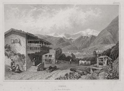 Brieg, Meyer, oceloryt, 1850