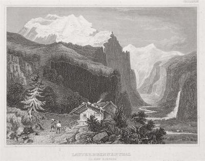 Lauterbrunnenthal, Meyer, oceloryt, 1850