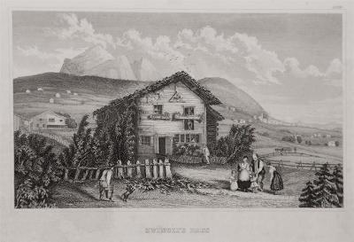 Zwiglis Haus, Meyer, oceloryt, 1850