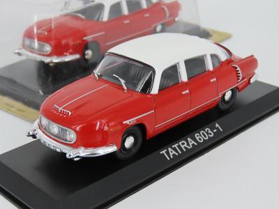 Tatra 603-1 Kultovní auta 1:43 Kult02