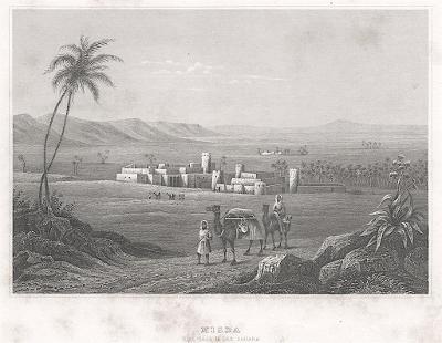 Misda Sahara, Meyer, oceloryt, 1850