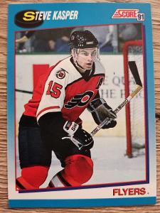 Karta Score 91-92 č. 574 Steve Kasper