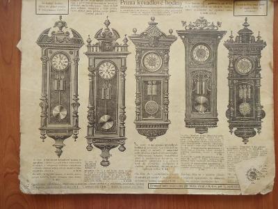 Torzo katalogu-hodiny,řetízky,peněženky,břitvy,nože.....cca 1900