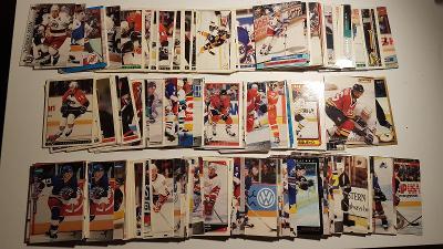 přes 2500 hokejových karet NHL od 1,-kč