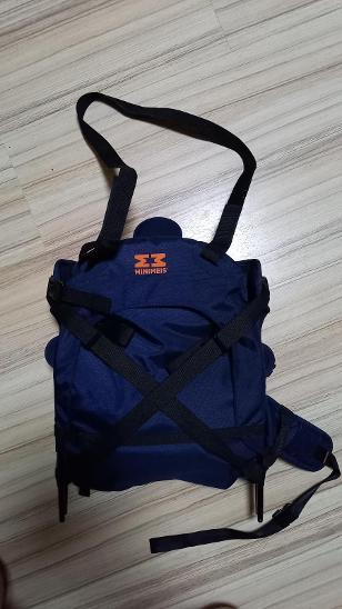Dětské nosítko na ramena MINIMEIS - vhodné na výlety - Turistika a cestování