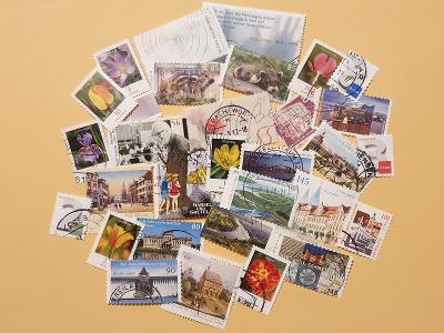 Známky - Německo - hromada - 30 kusů