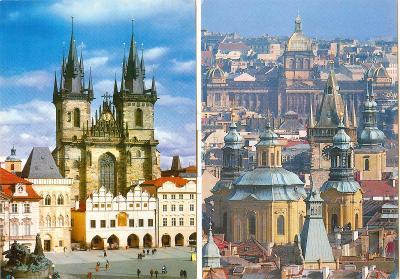 Praha, 33 ks neprošlých pohledů