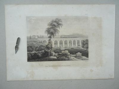 Der Eisenbahn-Viaduct bei Gotha.........ocelorytina.....cca  1880