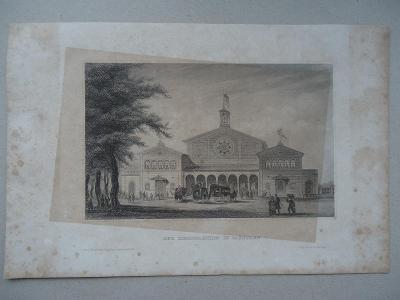 Der Eisenbahnhof  in  München.....ocelorytina.....cca  1880