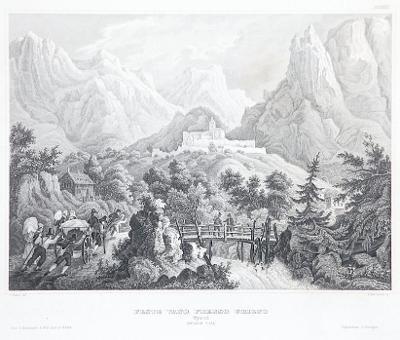 Vano Presso Grigno, Meyer, oceloryt, 1850