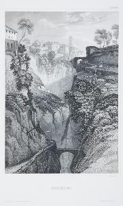 Sorrento, Meyer, oceloryt, 1850