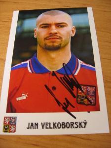 Jan Velkoborský - ČR - orig. autogram