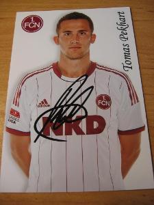 Tomáš Pekhart - 1. FC Nürnberg - orig. autogram