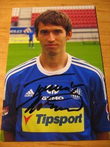 Tomáš Hořava - Olomouc - orig. autogram