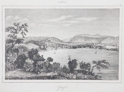 Genf, Le Bas, oceloryt 1842