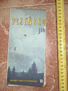 2 x mapa--Plzeň- 1971