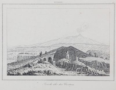 Cantara most, Le Bas, oceloryt 1840