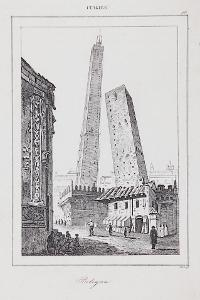 Bologna, Le Bas, oceloryt 1840