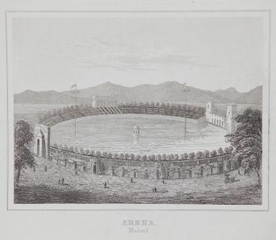 Milano Arena, oceloryt 1850