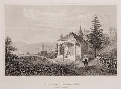Die Morgarten Capelle, Meyer, oceloryt, 1850