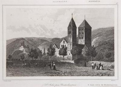 Niederlastein, Le Bas, oceloryt 1842